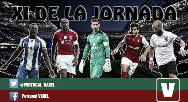 Once ideal 23ª jornada de la Liga NOS