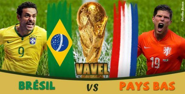 Live Brésil - Pays-Bas, la Coupe du Monde en direct