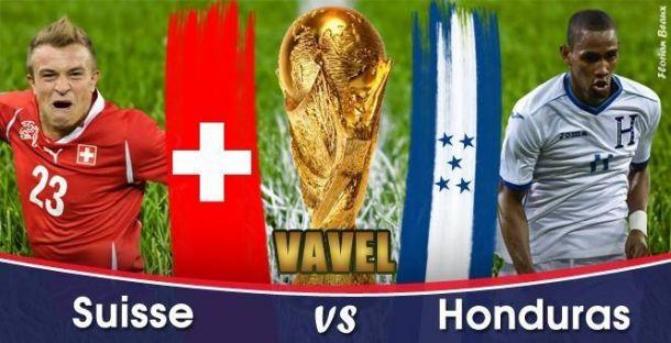 Live Honduras - Suisse la Coupe du Monde 2014 en direct