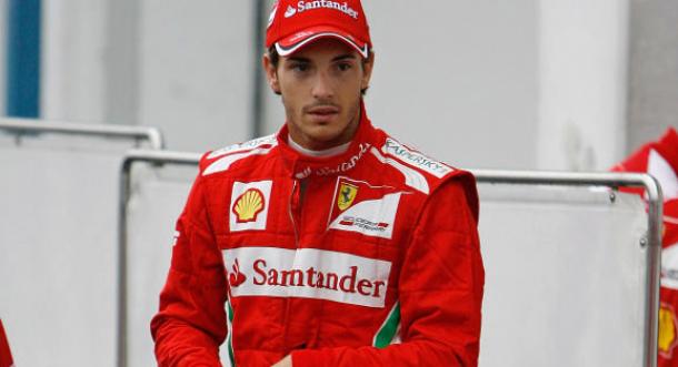 Testes de Silverstone: Bianchi coloca a Ferrari pela primeira vez no topo da tabela de tempos