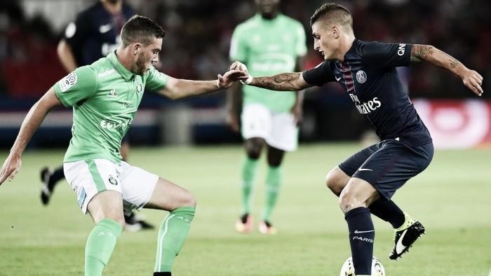 No milésimo jogo do Parc des Princes, PSG cede empate no fim contra o Saint-Étienne