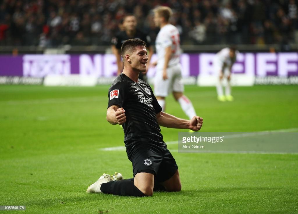 Eintracht Frankfurt 7-1 Fortuna Düsseldorf:Luka Jović scores five in Eagles rout