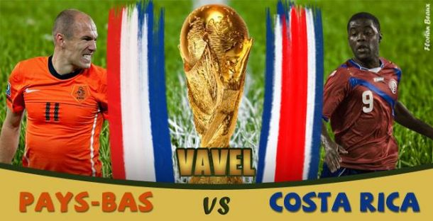 Live Pays Bas - Costa Rica, direct de la Coupe du Monde 2014