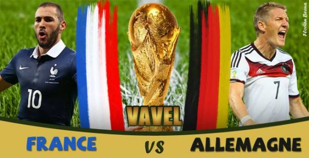 Live Coupe du monde 2014 : le match France - Allemagne en direct