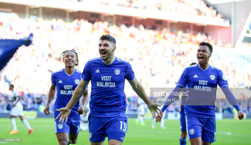 Cardiff City 4-2 Fulham: Second half goals seal first win for Bluebirds in six-goal thriller
