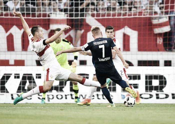 No Baden-Württemberg-Derby, Stuttgart é surpreendido e perde para o Heidenheim