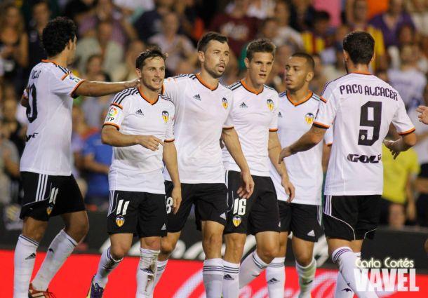 Valencia - Málaga, jornada 2, puntuaciones del Valencia