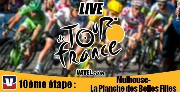Live Tour de France 2014 : La 10è étape (Mulhouse - La Planche des Belles Filles) en direct