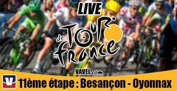 Live Tour de France 2014 : La 11ème étape (Besançon-Oyonnax) en direct