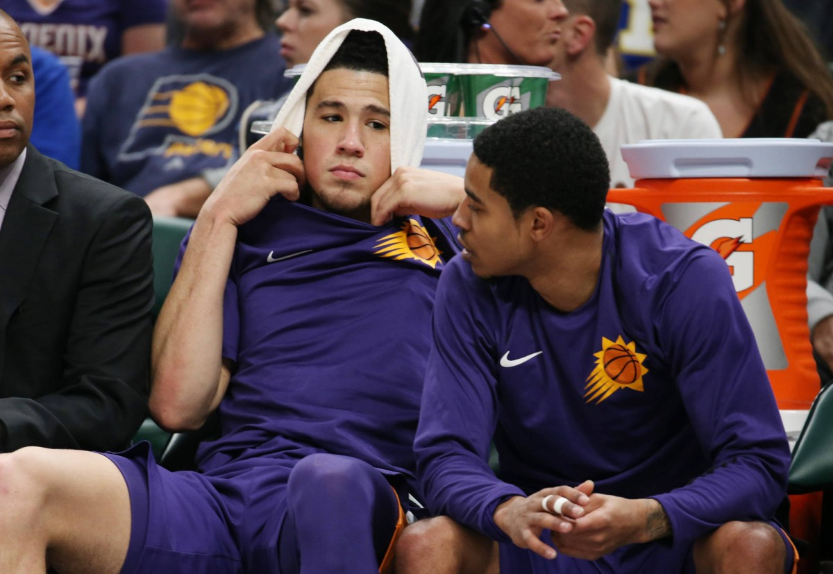 Devin Booker 'upset' with the Phoenix Suns