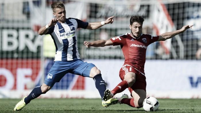 Hertha é eficiente, derrota Ingolstadt fora de casa e assume vice-liderança na Bundesliga