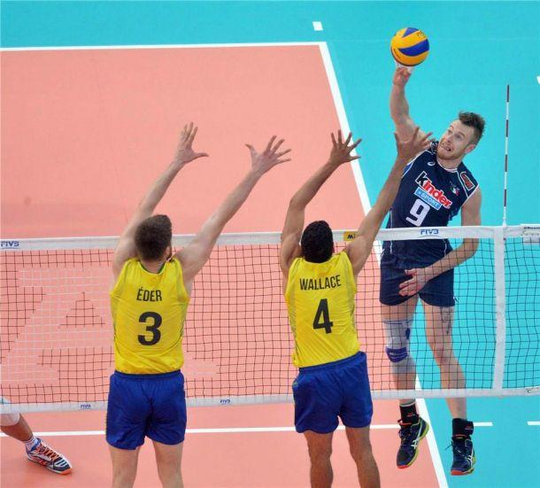 World League, volley maschile: il cuore consente all'Italia di battere il Brasile