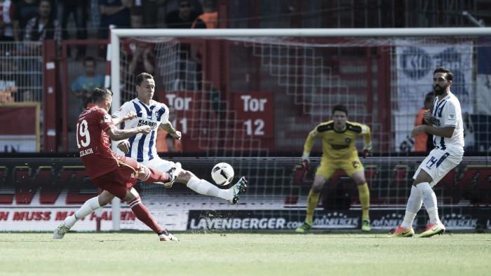 Quaner marca duas vezes e Union Berlin goleia Karlsruher na 2. Bundesliga