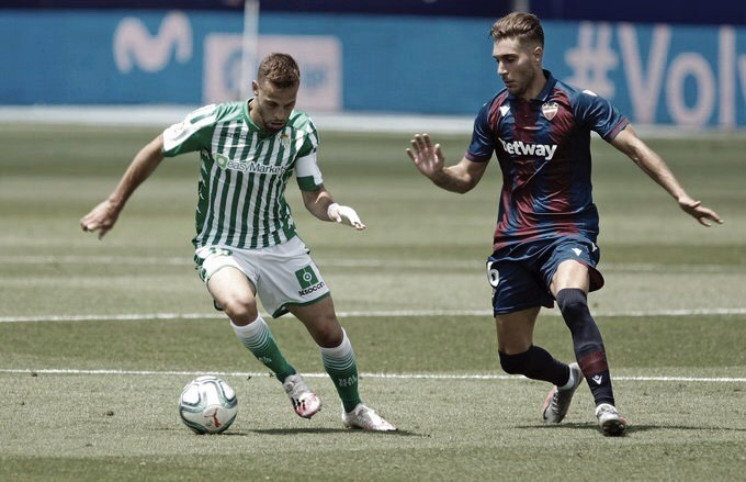 Levante se reabilita em LaLiga com grande vitória sobre Betis