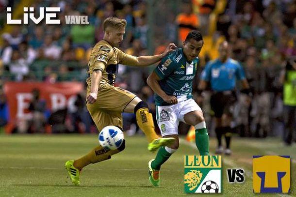 Resultado León - Pumas en Liga MX 2014 (2-1)