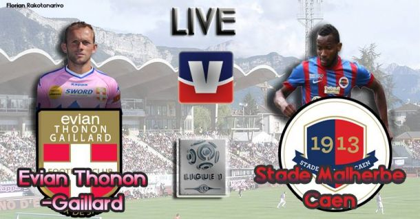 Live Ligue 1 : Évian Thonon-Gaillard - SM Caen, en direct