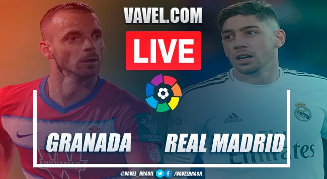 Granada vs Real Madrid en VIVO y en directo online en LaLiga