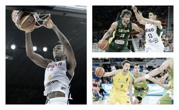 Coupe du monde de basket-ball (Groupe D) : L'Angola, la Slovénie et la Lituanie assurent