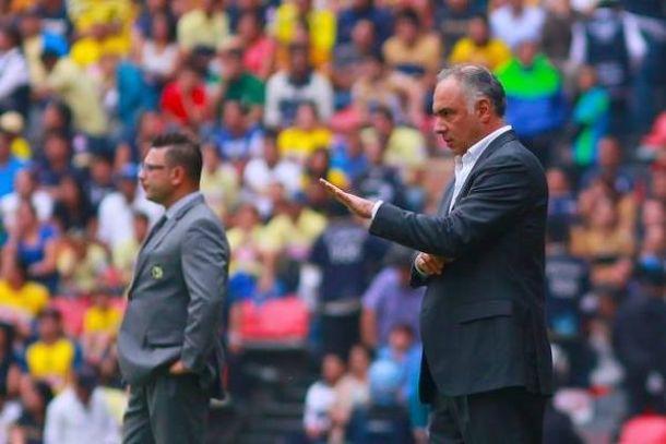 """Memo Vázquez: """"El equipo peleó, tuvimos suerte y ganamos"""""""