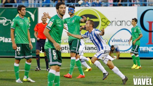 El Leganés empata in extremis y niega la primera victoria del Racing