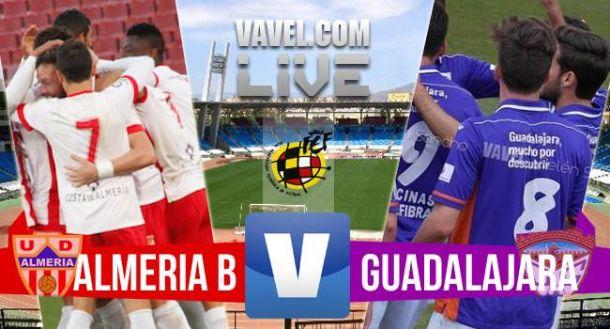 Resultado Almería B vs Guadalajara (2-2)