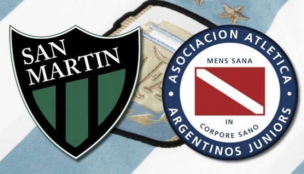 Resultado San Martín de San Juan - Argentinos Juniors (2-0)
