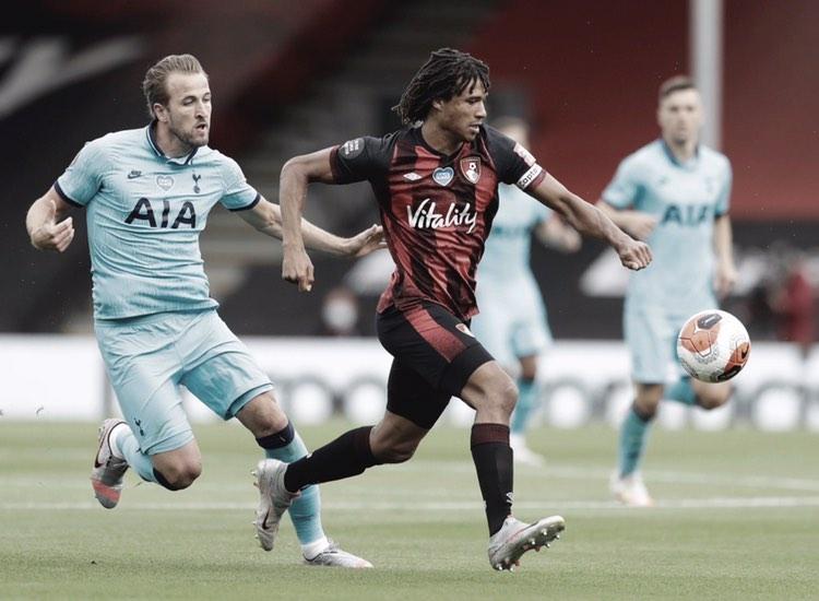 Em jogo polêmico, Bournemouth tem dois gols anulados e empata com Tottenham