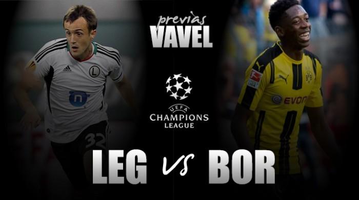 Na Polônia, Borussia Dortmund enfrenta Legia Varsóvia pela Champions League