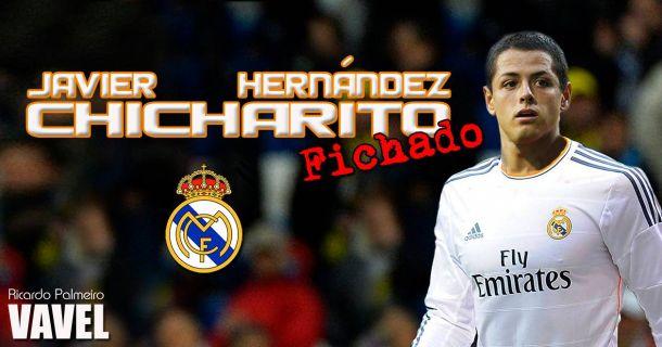 Una temporada para el Chicharito en el Real Madrid