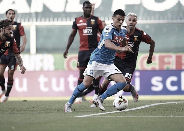Napoli vence fora de casa e coloca Genoa na zona de rebaixamento