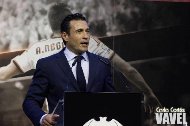 Amadeo Salvo, dos años al servicio del Valencia CF