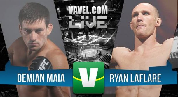 UFC Fight Night 62 : Demian Maia vs. Ryan LaFlare
