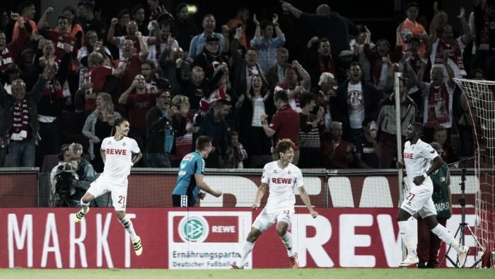 Modeste marca duas vezes e ajuda Colônia a superar Freiburg na Bundesliga