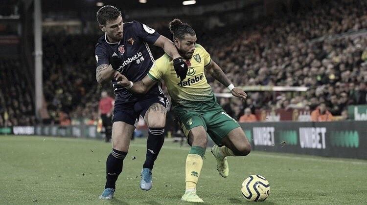 Sem vencer desde retorno da Premier League, Watford e Norwich fazem confronto direto contra rebaixamento