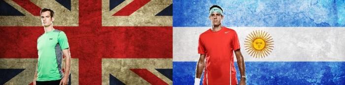 Copa Davis 2016: Grã-Bretanha e Argentina lutam por uma vaga na grande decisão