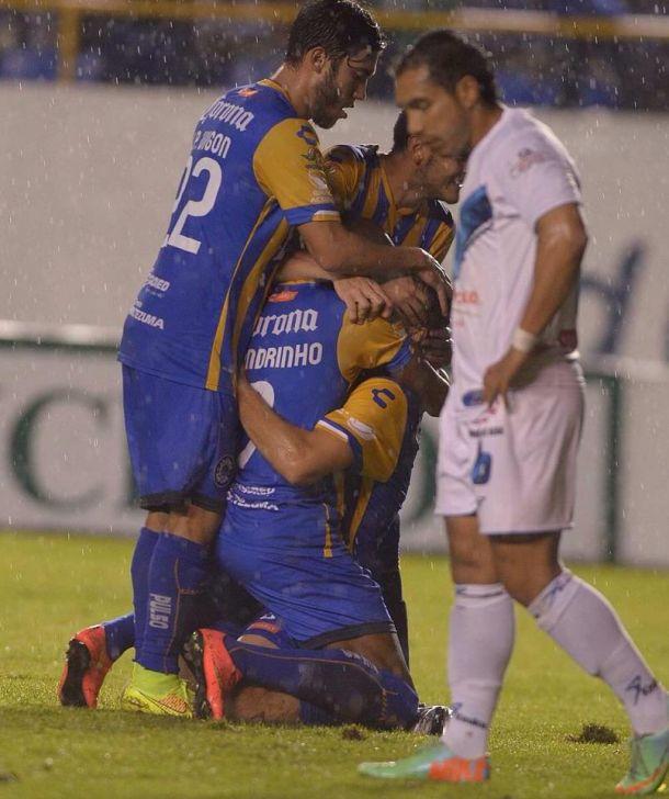Lluvia de goles en el Alfonso Lastras