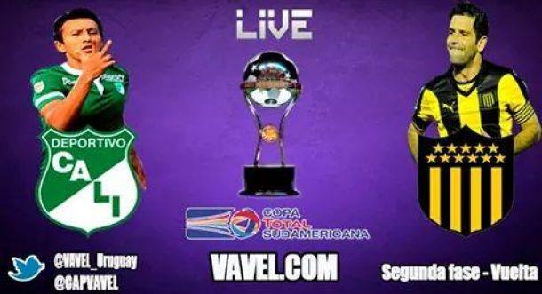 Resultado Deportivo Cali - Peñarol en la Copa Sudamericana 2014 (0-1)