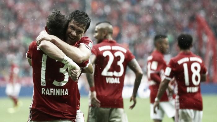 Rafinha marca, Bayern de Munique supera Ingolstadt e amplia sequência de vitórias
