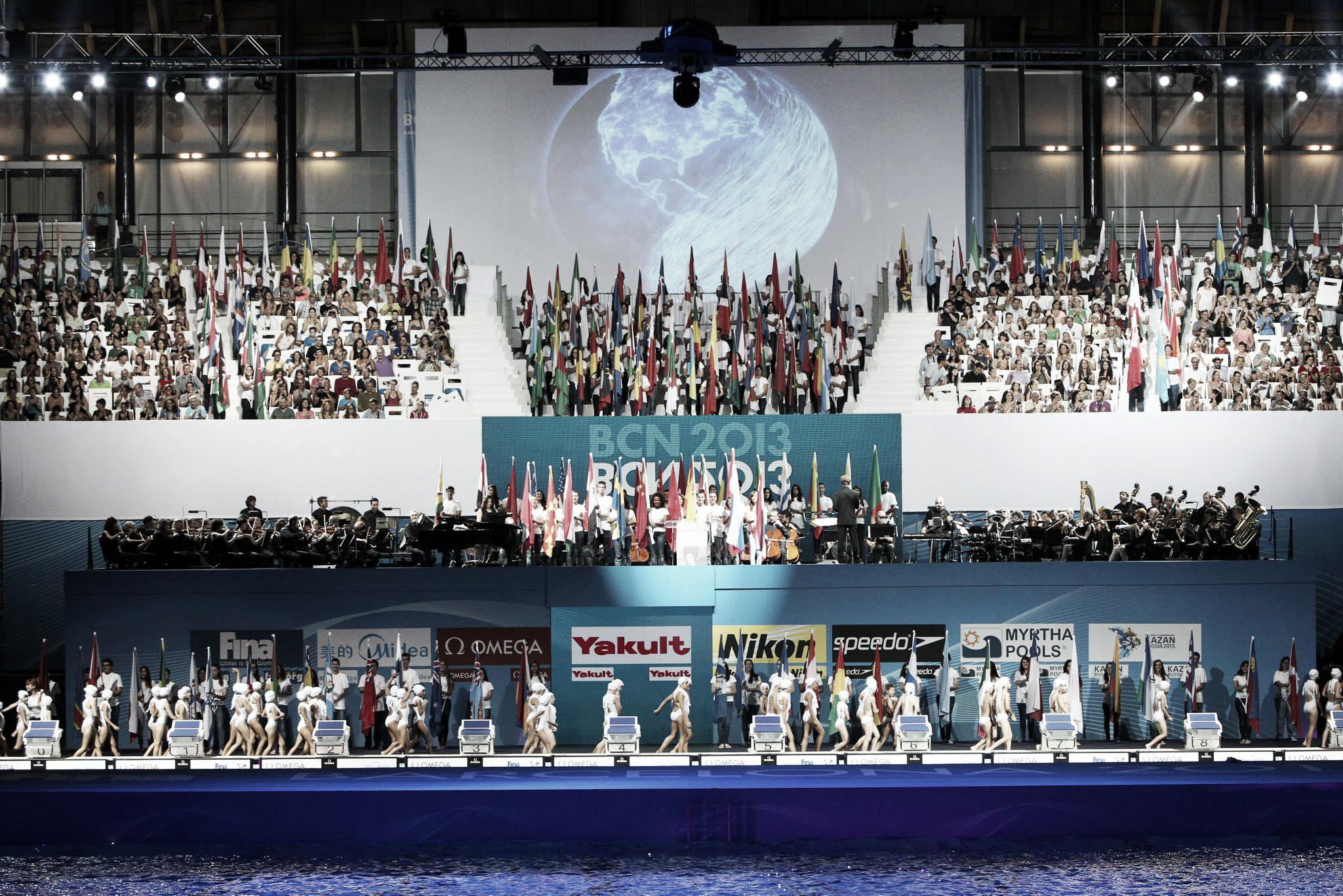 Una ceremonia de apertura a la altura de un Mundial