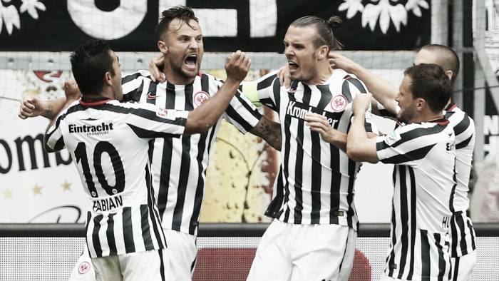 Frankfurt derrota Leverkusen em casa na Bundesliga