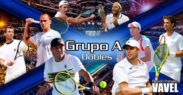 Grupo A dobles: los Bryan contra sí mismos