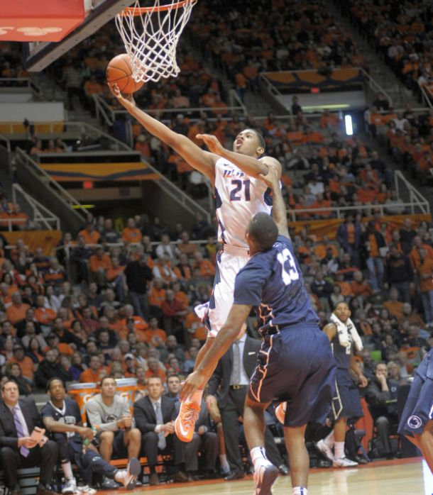 Illinois Defeats Penn State; Malcolm Hill Scores the Game-Winner with 4.2 Seconds Left