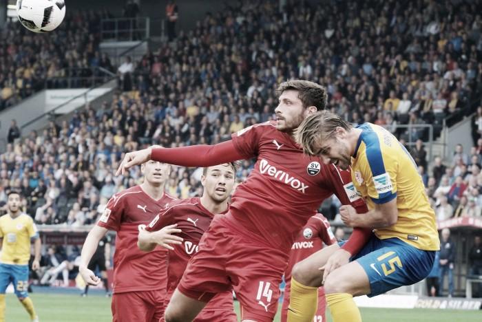 Braunschweig derrota Sandhausen e mantém invencibilidade na 2. Bundesliga