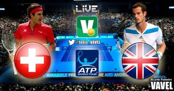 Copa de Maestros 2014: Roger Federer vs Andy Murray en vivo y en directo online