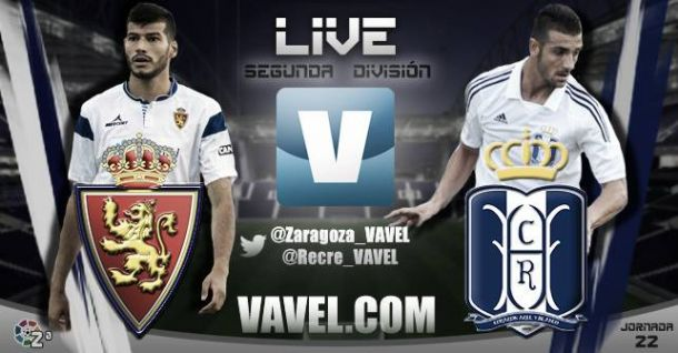 Real Zaragoza - Recreativo de Huelva en directo online 2-0