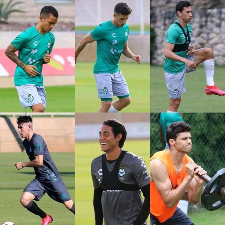 Ocejo, Prieto, Balda, Govea, Sandoval y Lajud son los elementos que reforzarán a los Guerreros en el torneo de invierno (Foto: Santos Laguna)