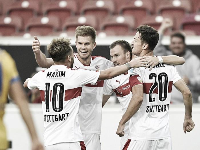 Stuttgart quebra sequência do Braunschweig e vence na 2. Bundesliga