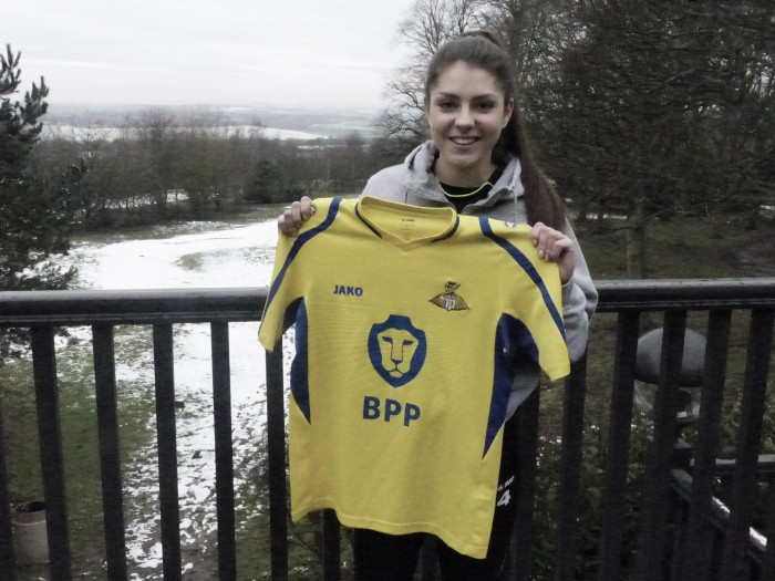 Carla Humphrey raring to go with Doncaster Belles loan