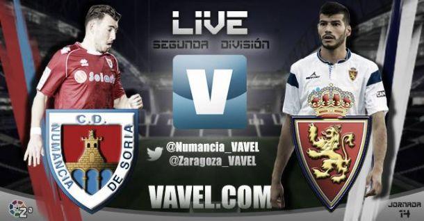 Numancia - Real Zaragoza en directo online