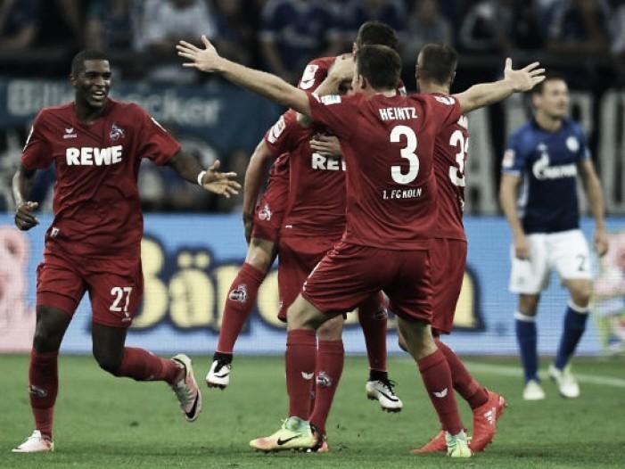 Colônia derrota Schalke 04 fora de casa na Bundesliga